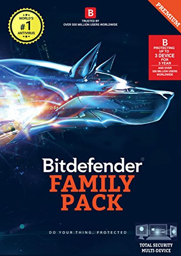 BitDefender Total Security Latest Version Multi Devices - 3 Devices,...
