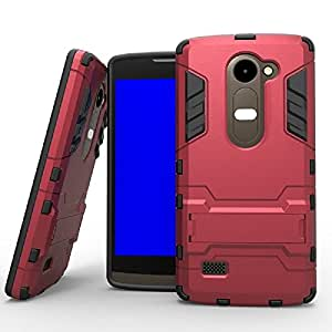 Heartly Graphic Designed Kick Stand Hard Dual Rugged Armor Bumper Back Case With Protective 2.5D 0.3mm Pro Tempered Glass For Sony Xperia X - Cute Pink