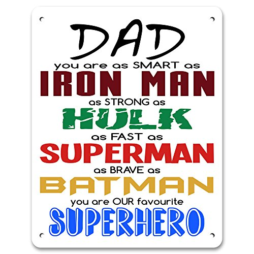 Dad You Sind Unsere Entspannen–Metall Schild/Plakette