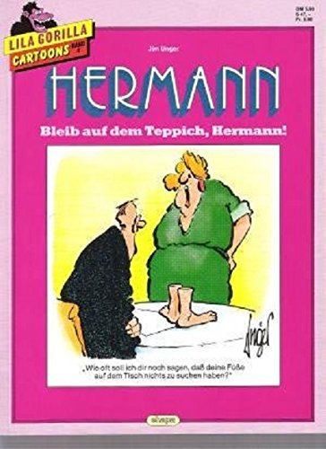 S (Ehapa) Band 4, Hermann - Bleib auf dem Teppich, Hermann  ! (Ehapa Softcover-Kiosk-Comicalben) ()