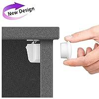 Cerradura Magnética de Seguridad de Armarios Para Niños - Cabinetes y Armarios de Prueba Para Bebés Cerradas Adhesivas Versión Actualizada ( 6 Cerraduras, 2 llaves )