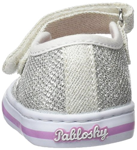 Pablosky 939550, Chaussures Fille Blanc