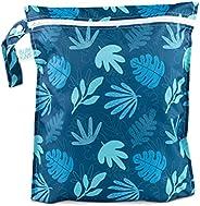 حقيبة مبلل مقاومة للماء وقابلة لإعادة الاستخدام مع سحاب من بامكينز