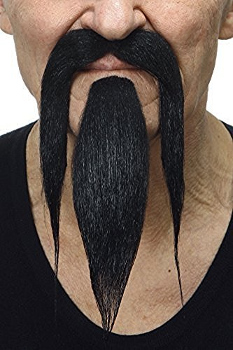 Preisvergleich Produktbild Shaolin schwarzen bart und schnurrbart