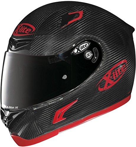 X-Lite X-802RR Ultra Carbon - Casco deportivo de fibra de carbono, X-802RR, gris oscuro, XXL (63/64)