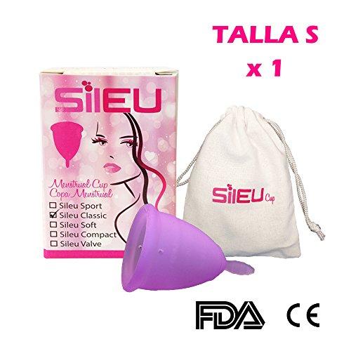 Copa menstrual Sileu Classic - Talla S - Mujeres que no han...