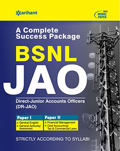 BSNL Junior Accounts Officers 2017