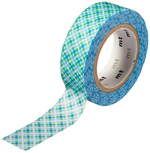 MT Washi tape, 1P Deco, 15mm x 10m, Oboro DOT Water (MT01D282)