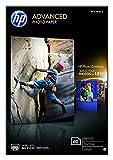 HP Q8008A Advanced Glossy Fotopapier 250g/m² 10x15cm 60 Blatt, weiß