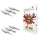 BIGWASP Professional Disposable Tattoo Needle Cartridge 20Pcs (1005 (Curved Magnum) - MT)