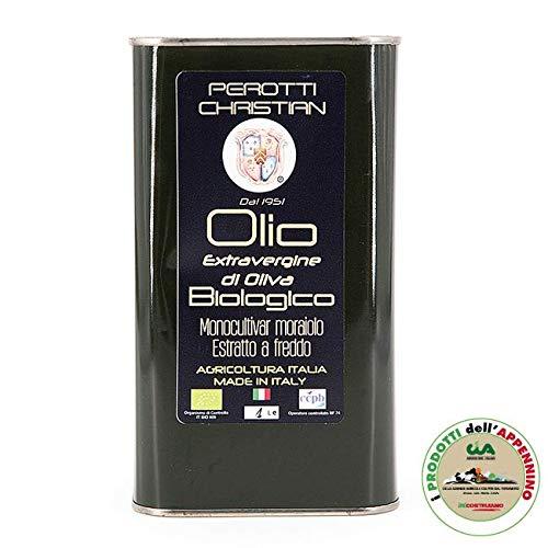 Azienda agricola perotti christian - olio extravergine di oliva bio latta, 1 l