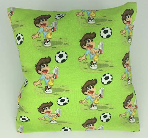 Fan-Kissen Fussball, Sport, Fussball, Kinder, Geschenk,Sport, Autokissen, Reisekissen