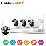 FLOUREON CCTV Security System 4CH 1080P Wireless NVR - Best Reviews Guide