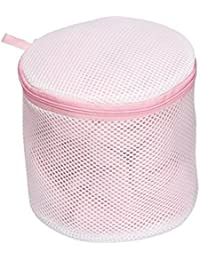Bra Saver. Cylindrical Lingerie Net Wash Bag (One Size)