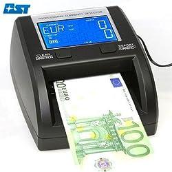 Geldprüfer 5 fache Prüfung Geldprüfgerät Geldscheinprüfer Banknotenprüfer Banknoten Prüfer Geld Prüfgerät