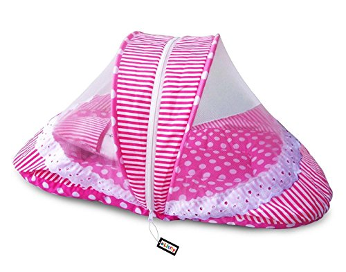 Littly Contemporary Cotton Bedding Set (Pink, White)