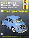 VW Beetle 1200 and Karmann Ghia 1954-1979 (Haynes Manuals)