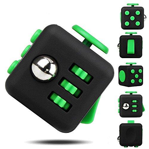 Fidget Cube, DELICACY Angst Stress Reliever Würfel, Aufmerksamkeit Relax Mini Gadget Würfel für Spannung und Nervosität, Stress Relief, Neuheit Geschenk