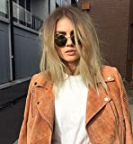 Vébonnie 2019 Blonde Celebrity Wigs Bob Wigs Ombre Brown Rooted Blonde Hair Lace Front Wigs 12 inches