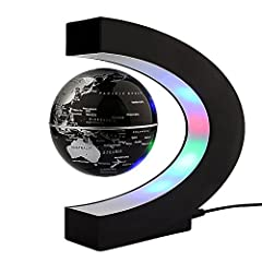 Idea Regalo - Globo C levitazione magnetica a forma di sfera galleggiante Globe World Map regalo galleggiante LED