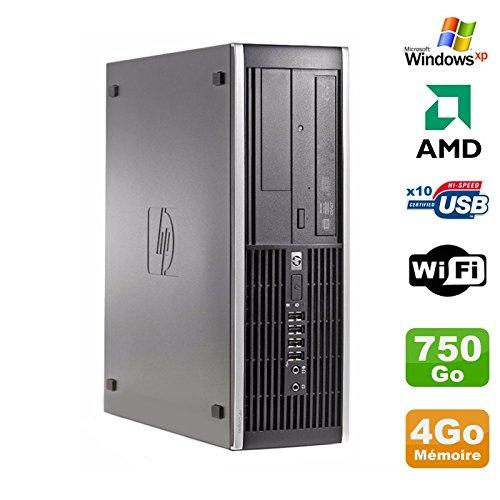 Hp PC Compaq 6005 Profi SFF AMD 3GHz 4gb DDR3 750Go SATA Gravierer Wifi Windows XP (Hp Desktop-computer Windows Xp)