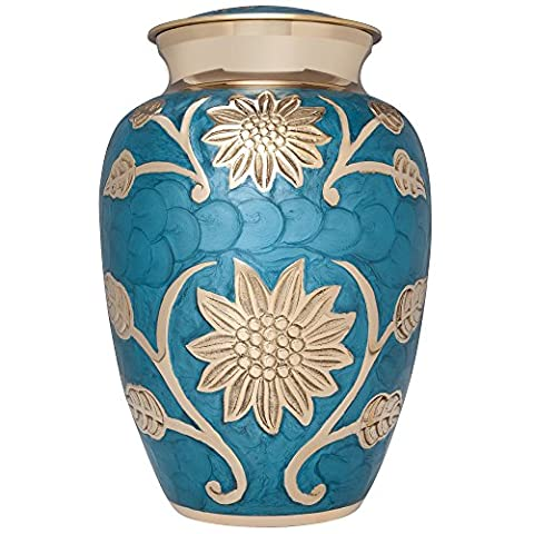 Liliane Memorials Cremation Urn For Human Ashes - Hand Made