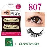 D.U.P False Eyelashes - Rich 807 (Green Tea Set)