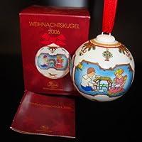 HUTSCHENREUTHER KRISTALL-WEIHNACHTSZAPFEN 2011 GLAS NEU /& OVP