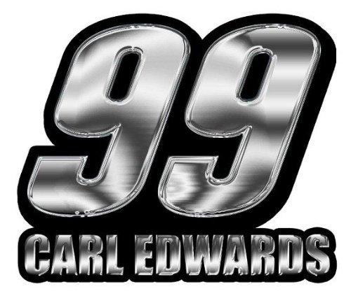 nascar-carl-edwards-chrome-auto-emblem-by-football-fanatics