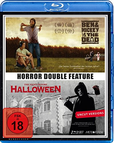 Double Horror Feature: Ben & Mickey vs. The Dead - The Night Before Halloween (Blu-Ray) [HD DVD] (Mickey Halloween-film)