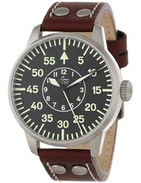 Laco 1925 Herren-Armbanduhr Laco Pilot 861690 Analog Automatik Leder Braun 861690