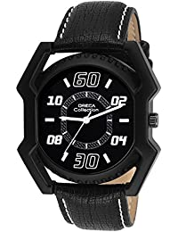 Oreca Analogue Black Dial Men's Watch - gt9013