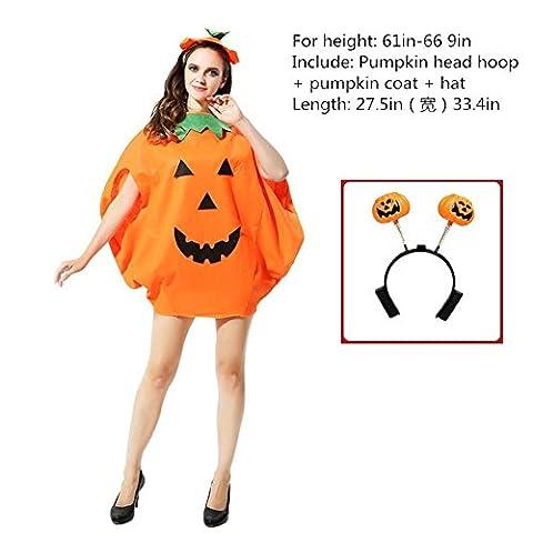 Mascarade Masque Costume pour enfants d'Halloween Costume pour adulte Performance de danse Costume de citrouille Sac de citrouille Capuchon de potiron Disposable Props ,