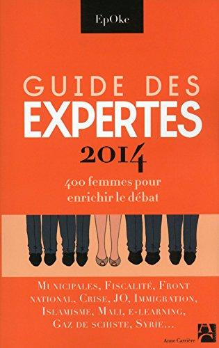 Guide des Expertes 2014 par Epoke