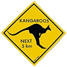 Kangaroo Schild
