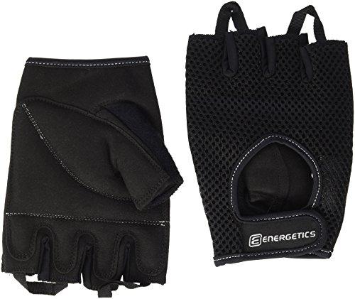 ENERGETICS Training 110 Handschuhe, Schwarz/Grau, One Size -