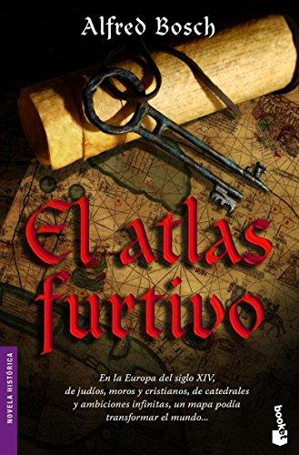 Portada del libro El atlas furtivo (Novela histórica)