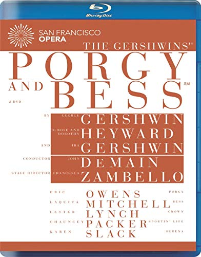 The Gershwins'®: Porgy & Bess (live at the War Memorial Opera House, San Francisco, 2009) [Blu-ray]