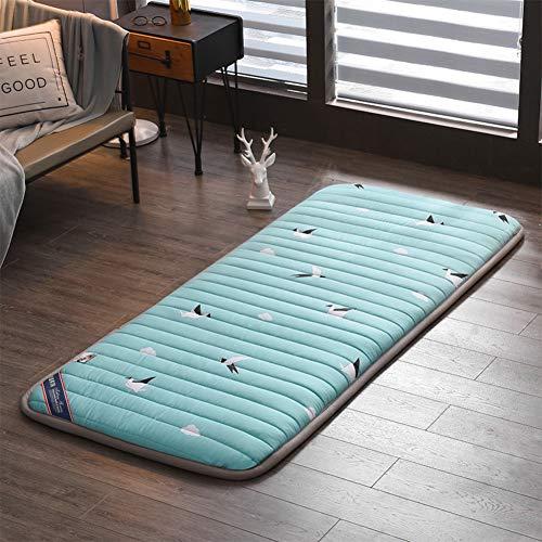 HAOLY Kohle-atmungsaktiv Starke Anti-rutsch Boden matratze,Bett Topper Trampolin Tatami-Matte pad,Nap Kissen schlafsaal schlafen-D 180x200cm(71x79inch)