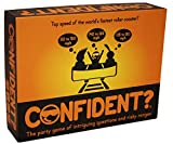 CONFIDENT? - The Party Trivia Game of Intriguing Questions and Risky Ranges. Go Small or Go Home