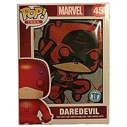 Marvel Funko POP Tees Daredevil Skyline 45 camiseta unisex de ediciš®n limitada (medio)