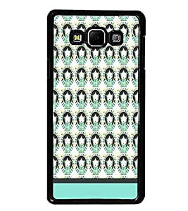 PrintDhaba Girl Pattern D-1956 Back Case Cover for SAMSUNG GALAXY A8 (Multi-Coloured)