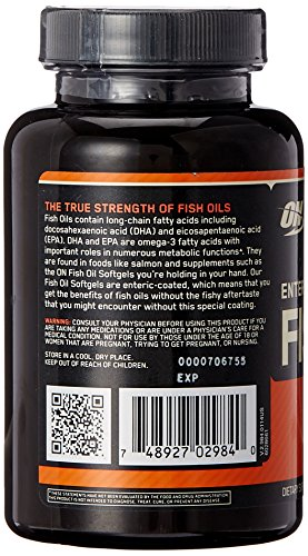 Optimum Nutrition (ON) Fish Oil - 100 Softgels