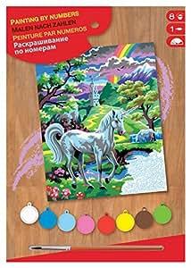 KSG - Loisirs Créatifs - Peinture au Numéro - Junior Masterpiece - Licorne