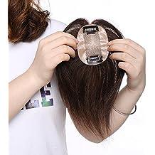 Extensiones de Cabello Natural Clip Prótesis Capilar Mujer 100% Remy Pelo Humano Ideados para Ampliar