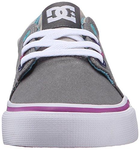 DC Shoes Trase Tx, Baskets mode garçon Grey/Grey/Blue
