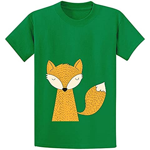 The Fox Is Back Youth Crew Neck Short Sleeve T-shirt XXXX-L