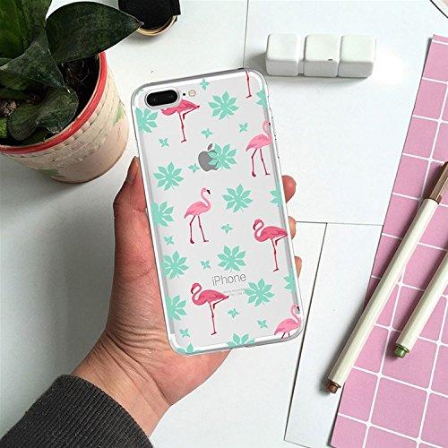 iPhone 7 Plus Transparente Case iPhone 7 Plus 5.5 pouces Cover,MingKun Ultra Mince Transparente Soft TPU Silicone Clair Transparente Case iPhone 7 Plus 5.5 pouces Cover pour iPhone 7 Plus Clair Étui H Picture-3
