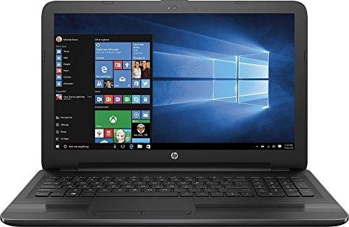 Top Performance HP 15.6 inch HD Premium Laptop, Quad-Core AMD A6-7310 2GHz, 4GB RAM, 500GB HDD, AMD Radeon R4 Grapgics, Wifi, DVD+/-RW, HDMI, Webcam, Windows 10- Black 51 ZY2B0PDL