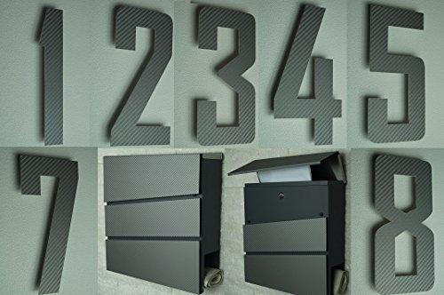 Design Briefkasten Anthrazit - 8